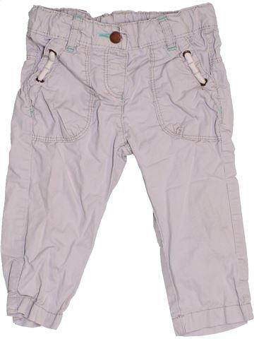 Pantalón niña VERTBAUDET gris 12 meses verano #1457387_1