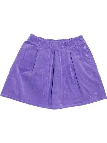Falda niña OKAIDI violeta 10 años invierno #1457426_1