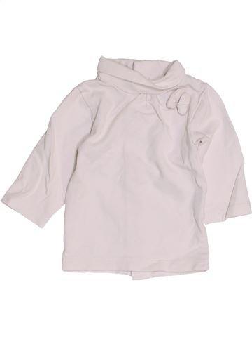 Camiseta de cuello alto niña KIABI blanco 1 mes invierno #1457440_1