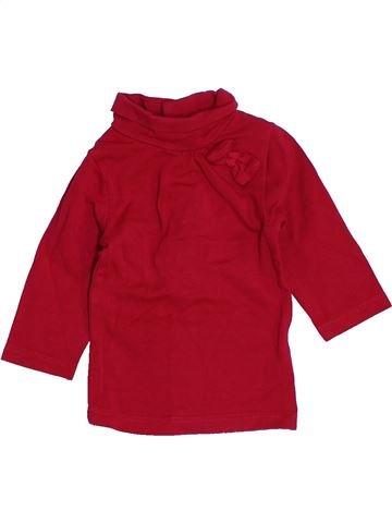 Camiseta de cuello alto niña KIABI rojo 1 mes invierno #1457445_1
