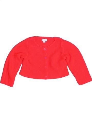 Chaleco niña BRIOCHE rojo 9 meses invierno #1457730_1