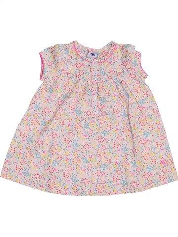 Blusa de manga corta niña PETIT BATEAU rosa 6 meses verano #1458034_1