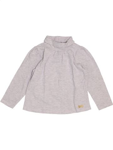 Camiseta de cuello alto niña TAPE À L'OEIL blanco 2 años invierno #1458091_1
