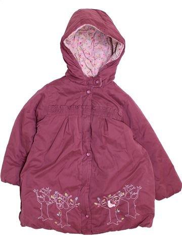 Abrigo niña LA COMPAGNIE DES PETITS violeta 3 años invierno #1458106_1