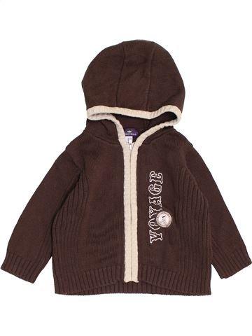 Chaleco niño SERGENT MAJOR marrón 9 meses invierno #1458168_1