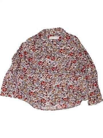 Blusa de manga larga niña ZARA rosa 6 años invierno #1458212_1