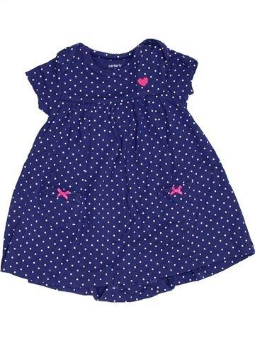 Vestido niña CARTER'S azul 9 meses verano #1458379_1