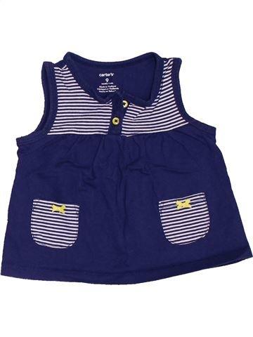 Camiseta sin mangas niña CARTER'S azul 9 meses verano #1458414_1
