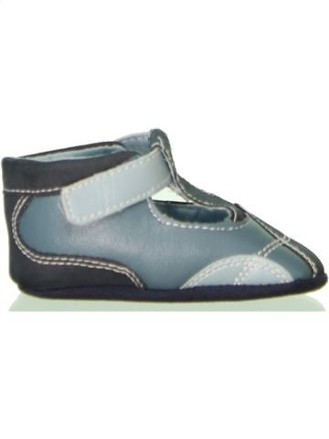 Zapatos bebe niño P'TIT BISOU azul 3 meses invierno #1458568_1