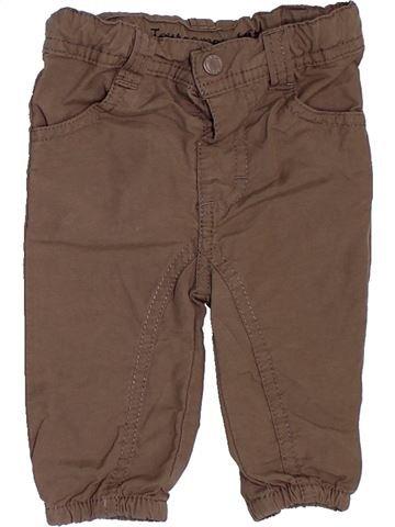 Pantalón niño TOUT COMPTE FAIT marrón 3 meses verano #1458572_1