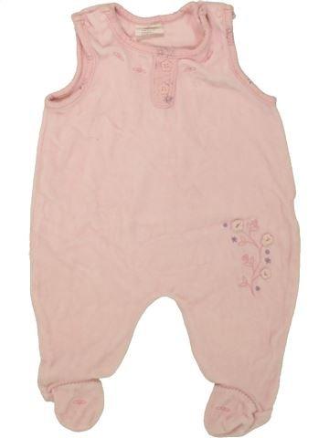 Pijama de 1 pieza niña BABY SANA rosa 3 meses invierno #1458857_1