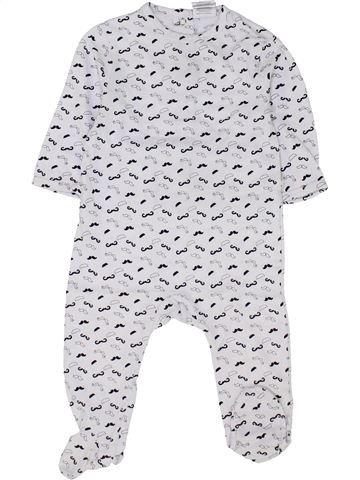 Pijama de 1 pieza niño KIABI blanco 12 meses verano #1458862_1