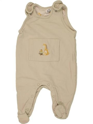 Pijama de 1 pieza niño H&M beige 3 meses invierno #1459009_1