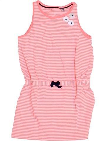 Vestido niña OKAIDI rosa 5 años verano #1459098_1
