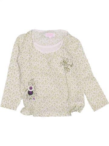 Blusa de manga larga niña LA COMPAGNIE DES PETITS blanco 3 años invierno #1459128_1