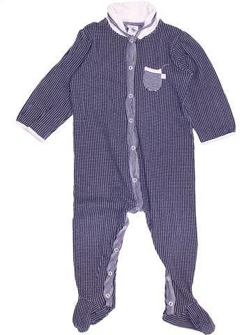 Pijama de 1 pieza niña PETIT BATEAU violeta 18 meses verano #1459162_1