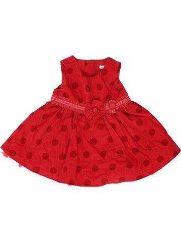 Vestido niña NEXT rojo 6 meses invierno #1459338_1