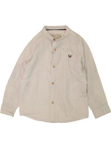 Camisa de manga larga niño ZARA beige 5 años invierno #1459486_1