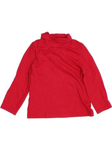 T-shirt col roulé garçon MOTHERCARE rouge 18 mois hiver #1459628_1