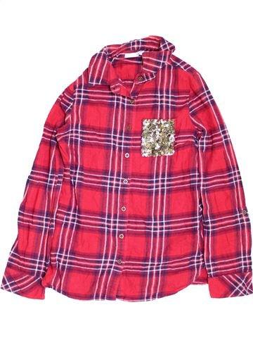 Blusa de manga larga niña MARKS & SPENCER rosa 12 años invierno #1459760_1