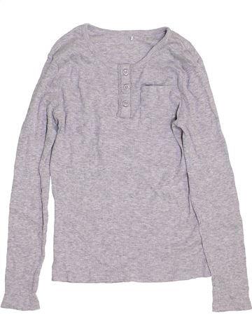 Camiseta de manga larga niña GEORGE gris 9 años invierno #1459787_1
