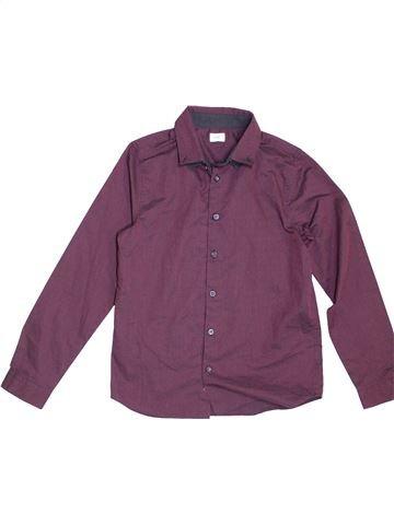 Camisa de manga larga niño F&F violeta 11 años invierno #1459823_1