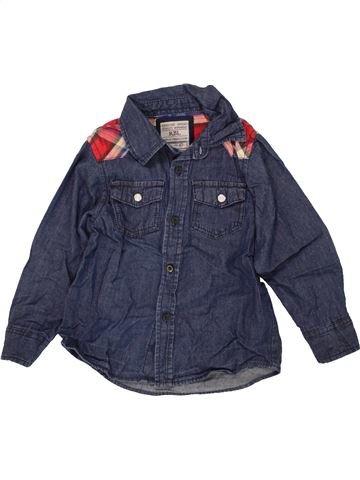 Camisa de manga larga niño PRIMARK azul 5 años invierno #1459883_1