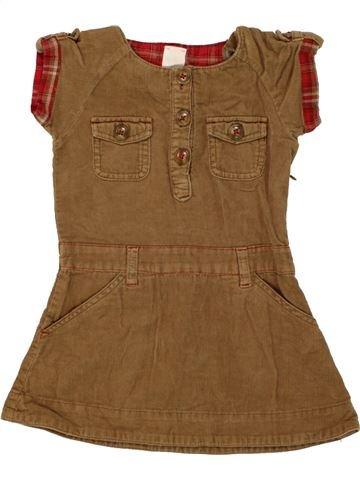 Vestido niña C&A marrón 3 años invierno #1459885_1