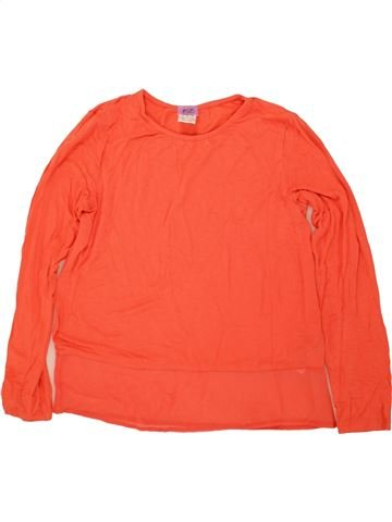 Camiseta de manga larga niña F&F rojo 10 años invierno #1459905_1