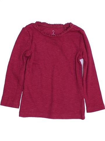T-shirt manches longues fille NEXT violet 12 mois hiver #1459976_1