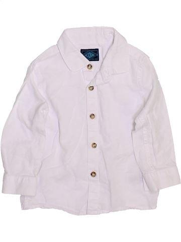 Chemise manches longues garçon NEXT blanc 12 mois hiver #1460025_1