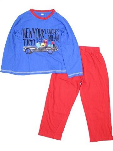 Pijama de 2 piezas niño KIABI rojo 6 años invierno #1460204_1