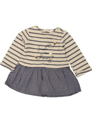 Vestido niña C&A gris 18 meses invierno #1460301_1