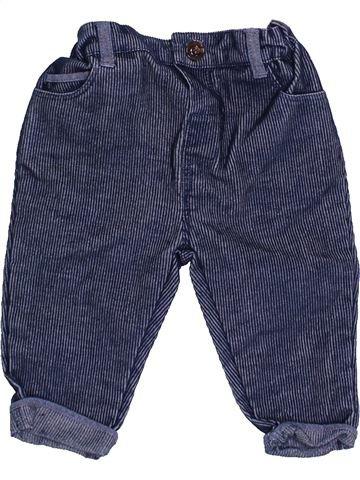 Pantalon garçon MINI CLUB bleu 6 mois hiver #1460348_1