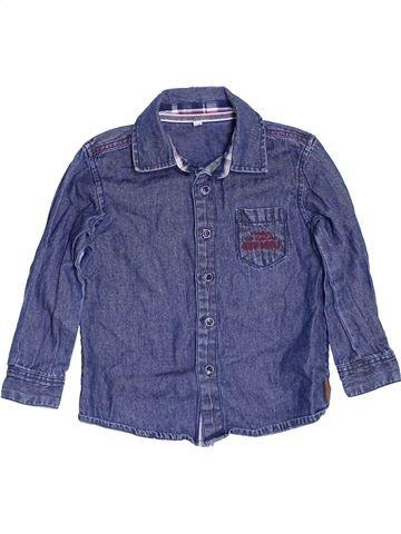 Camisa de manga larga niño DEBENHAMS azul 3 años invierno #1460379_1