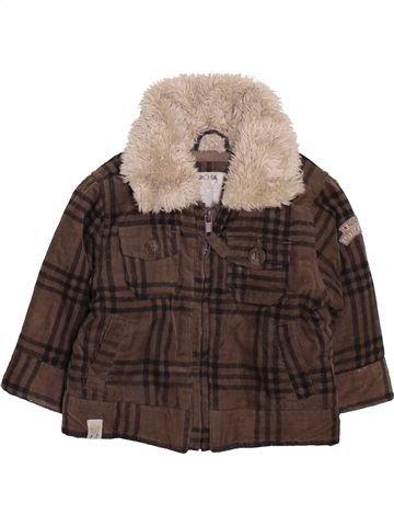 Manteau garçon DEBENHAMS marron 6 mois hiver #1460508_1