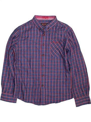 Chemise manches longues garçon BEN SHERMAN violet 8 ans hiver #1460775_1
