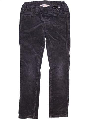 Pantalón niña H&M negro 6 años invierno #1460970_1