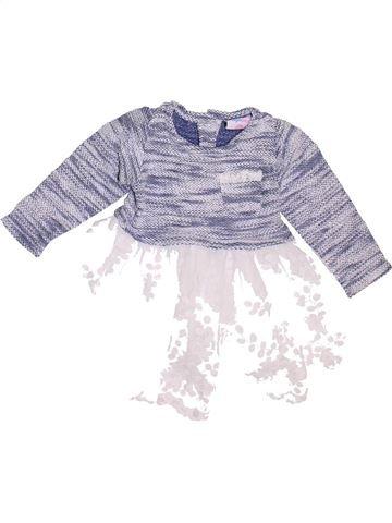 Robe fille TOPOLINO violet 18 mois hiver #1461093_1
