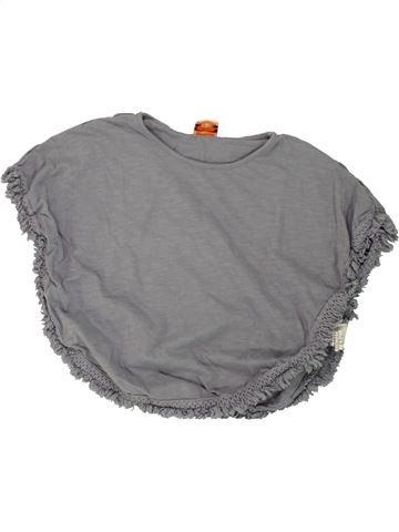 T-shirt manches courtes fille TAPE À L'OEIL gris 5 ans été #1461253_1