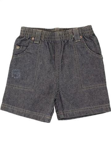 Short - Bermuda garçon OKAIDI gris 12 mois été #1461551_1