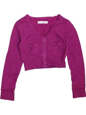 Sweat fille CKS violet 8 ans hiver #1461637_1