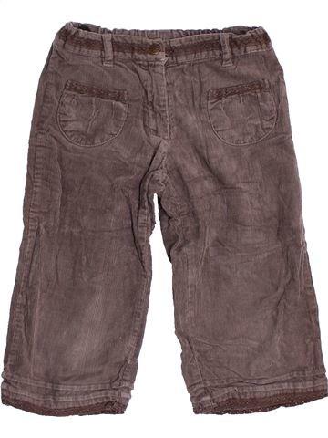 Pantalón corto niña CYRILLUS gris 6 años invierno #1461994_1