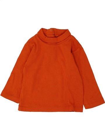 T-shirt col roulé garçon KIABI orange 12 mois hiver #1462160_1