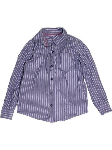 Chemise manches longues garçon DOPODOPO bleu 6 ans hiver #1462869_1