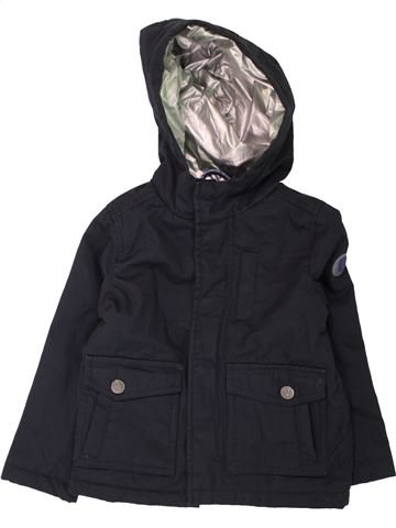 Abrigo niño OKAIDI azul oscuro 3 años invierno #1462885_1
