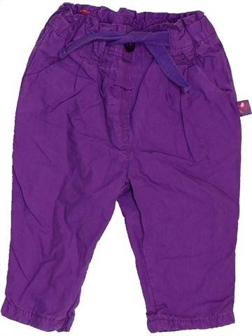 Pantalon fille ERGEE violet 1 mois hiver #1463148_1