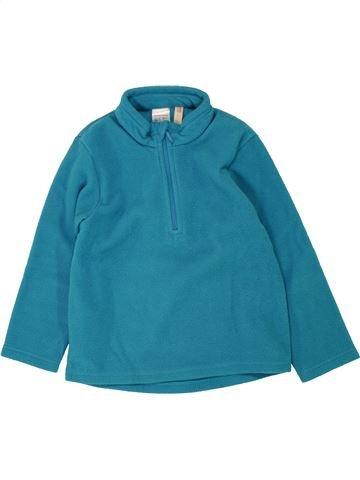 jersey niño QUECHUA azul 4 años invierno #1463491_1