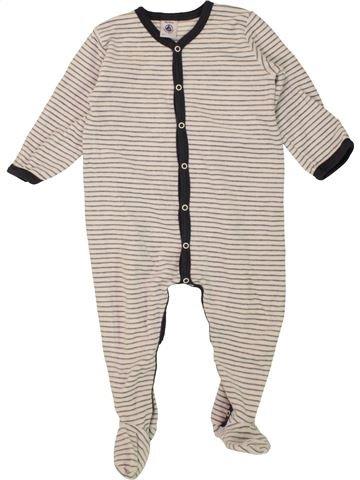 Pyjama 1 pièce garçon PETIT BATEAU beige 18 mois hiver #1463744_1