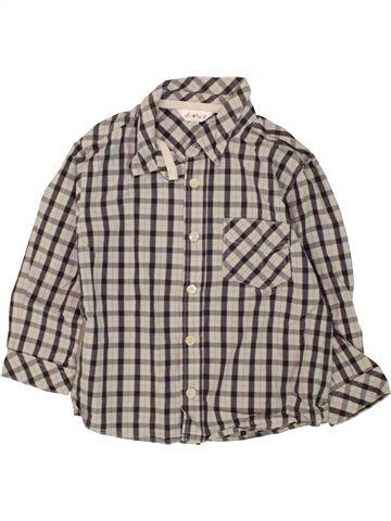 Chemise manches longues garçon KIABI gris 3 ans hiver #1463988_1